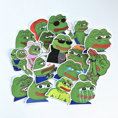 Autocollants Gamer <br> Pepe The Forg Meme