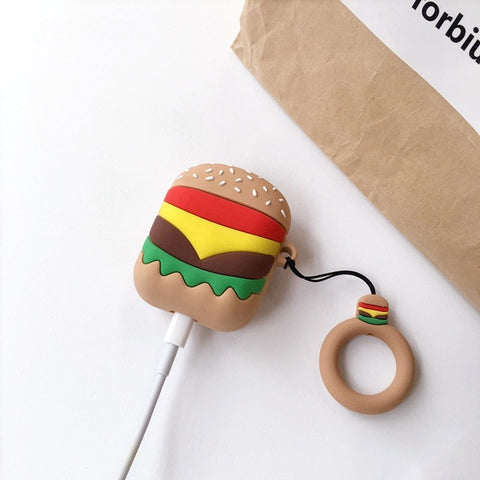 coque airpods cheeseburger mcdo