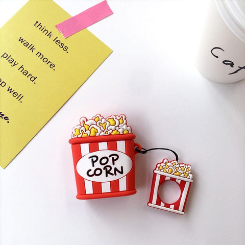 coque airpods popcorn