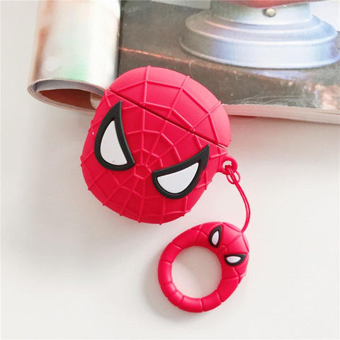 coque airpods spiderman