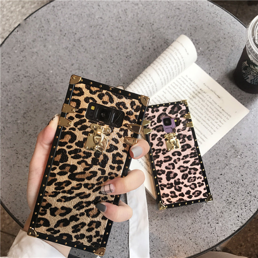 Leopard case For samsung galaxy note 9 8 s10 s8 s9 plus s10e s10 - Actual Phone Case