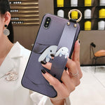 Case For iPhone 11 Pro Max X XS Max XR 6 6S 7 8 Plus Soft Wrist Strap - Cheap Phone Case