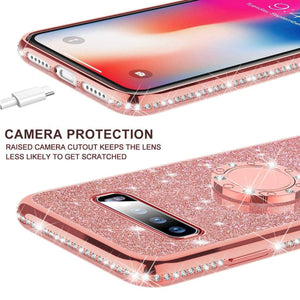 Samsung Galaxy S10 S10e S8 S9 Plus A7 2018 A6 A8 Note 8 9 360 Ring - Cheap Phone Case