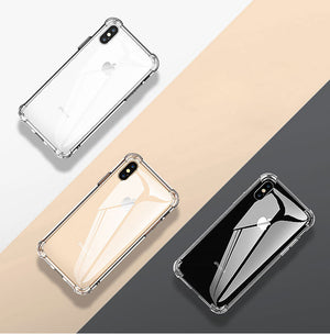 Shockproof Silicone Phone Case For iPhone 7 8 S Plus XS Max XR 11 Case - Actual Phone Case