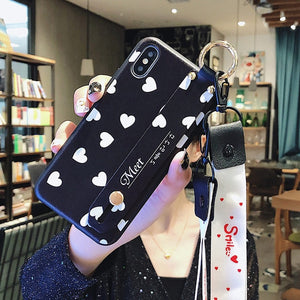 Phone Holder Case For iphone XR X Xs max 11 Pro Max Fruit Avocado Case - Cheap Phone Case
