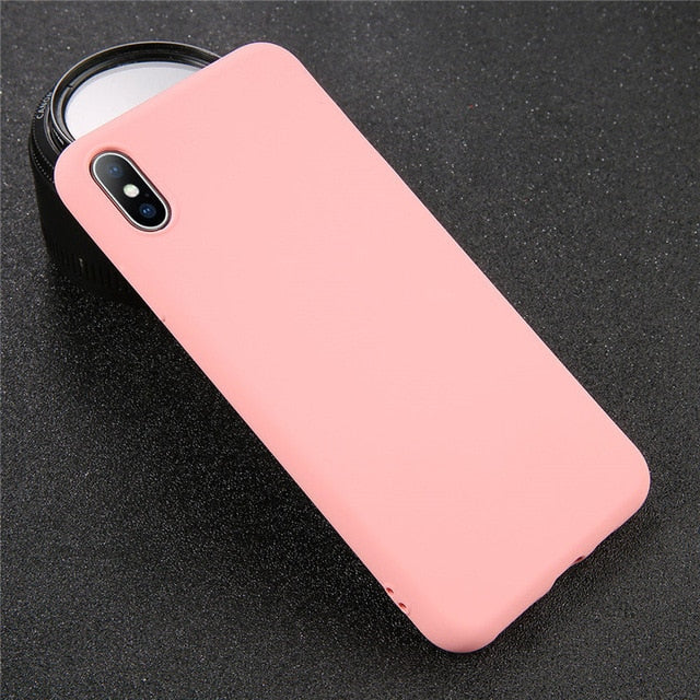 Case for iPhone XS 11 Pro MAX XR X XS Max for iPhone 11 7 6 6S 8 Plus - Actual Phone Case