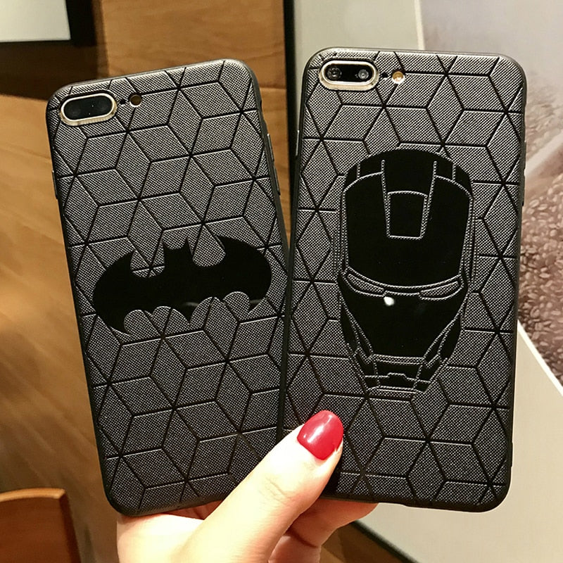 Marvel Avengers Matte Case for iPhone 11 pro X XS Max XR 7 8 Plus - Cheap Phone Case
