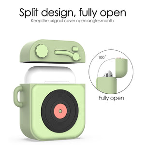 3D Cartoon Earphone Case For AirPods Bluetooth Headset Box For airPods 1 2 - Actual Phone Case