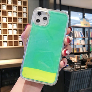 Luxury Luminous Phone Case For iPhone 11 Pro MAX XS Max XR XS Cover - Actual Phone Case