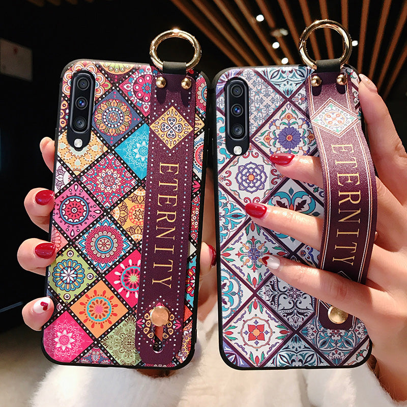 Couple Case For Samsung Galaxy S8 S9 S10 Plus S10e Phone Holder Case - Actual Phone Case