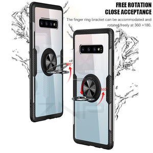 Case For Samsung Galaxy S10 S9 Plus S10E Note 9 10 Plus Clear Shockproof - Actual Phone Case