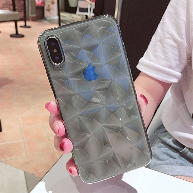 For iPhone 11 XS X XR 11 Pro XS Max For iPhone 8 7 Plus Silicone Cover - Cheap Phone Case