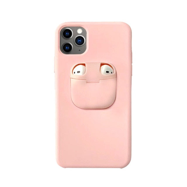 for iPhone 11 Pro Max Case Xs Max Xr X 10 8 7 Plus Cover for AirPods - Cheap Phone Case