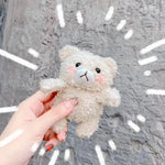 3D Cute Earphone Case For Airpods Case 1 Cartoon Knitted Plush - Actual Phone Case