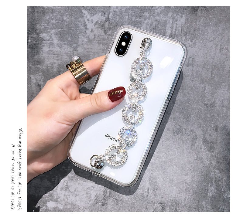 Bracelet wristband Case For Samsung Galaxy S10 S9 S8 Plus Note 10 9 - Actual Phone Case