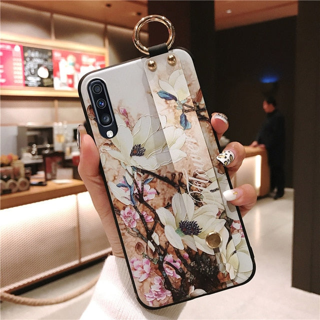 Couple Case For Samsung Galaxy S8 S9 S10 Plus S10e Phone Holder Case - Cheap Phone Case