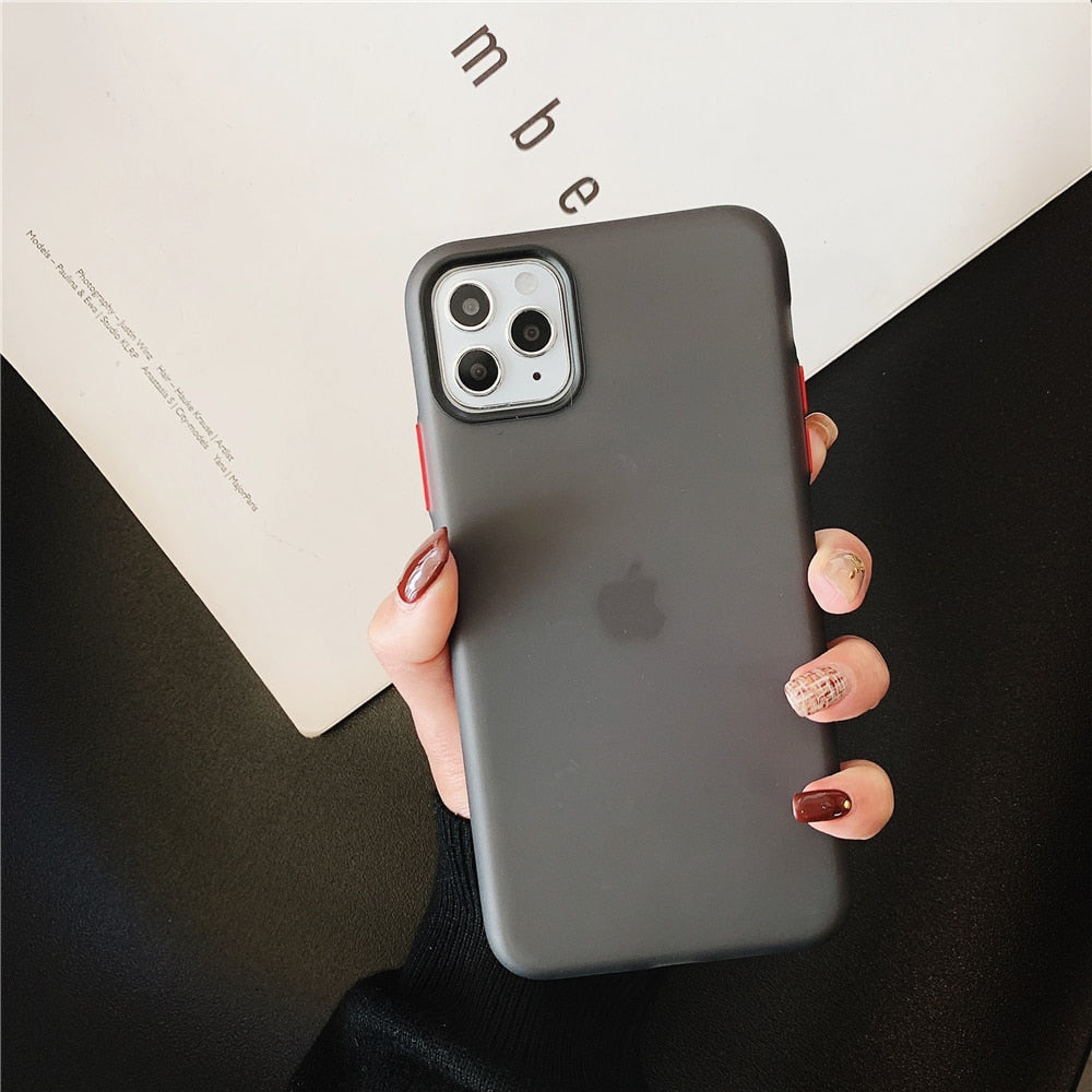 iPhone 11 Pro Max 7 8 6 6s Plus X XR XS Max Silicone Back Cover - Actual Phone Case