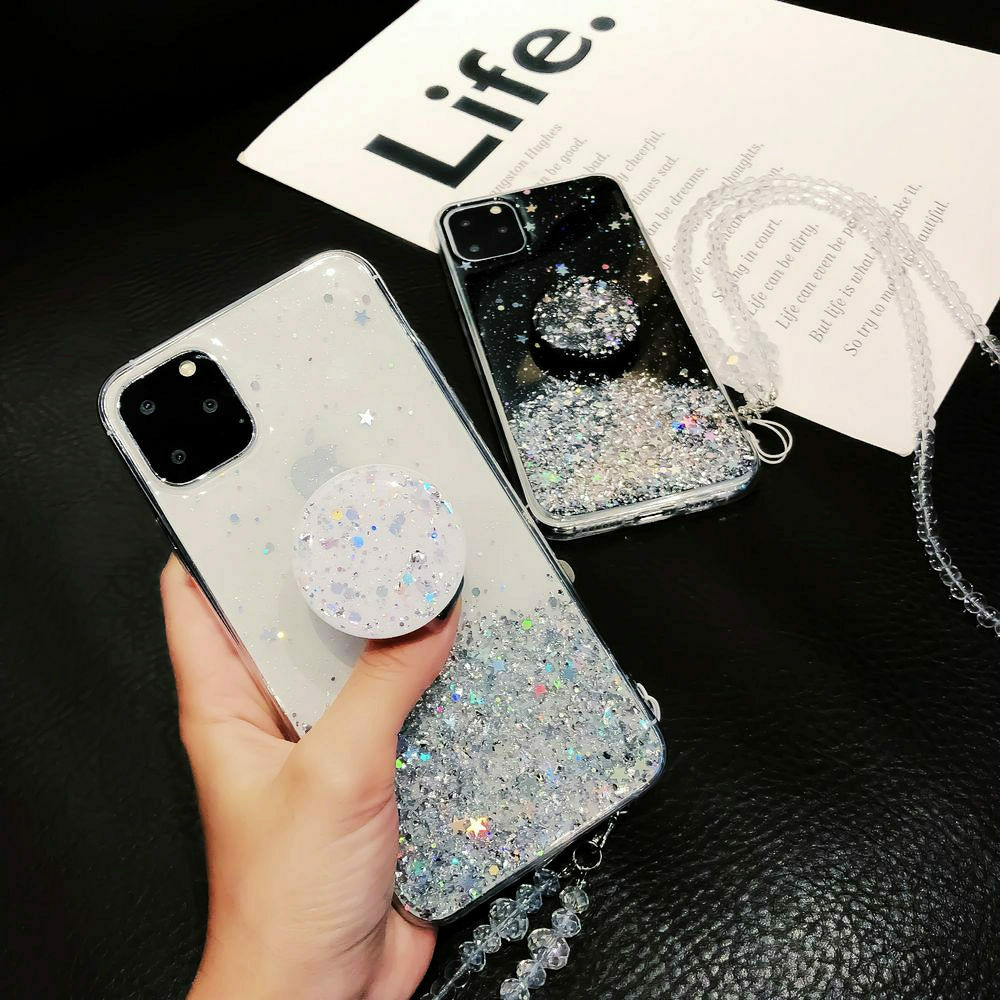 Glitter Case For iPhone 11 Pro Max 11 Pro 11 XS XR X XS Max 7 8 - Actual Phone Case