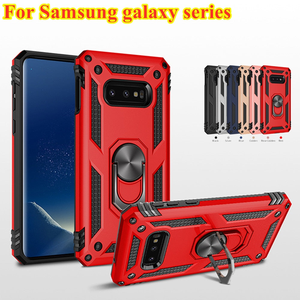 Shockproof Case For Samsung galaxy S10 S9 S8 Note 8 9 A8 A9 - Cheap Phone Case