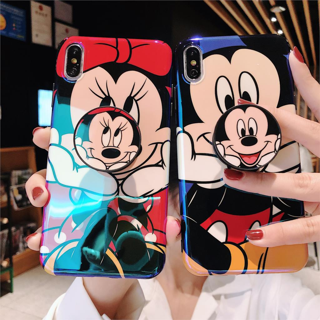 Funny Cute Cartoon Phone Case For iPhone 8 7 Plus X XR XS 11 Pro Max - Actual Phone Case