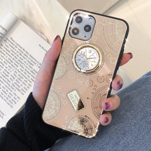 Luxury Fashion 3D Clock Phone Case For iPhone 11 Pro X XS MAX XR 7 8 Plus - Cheap Phone Case