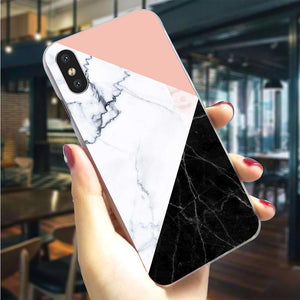 Cover for iPhone Xs Max 11 pro Marble X 6 6S 8 Plus 7 Xs XR Back Covers Slim - Cheap Phone Case