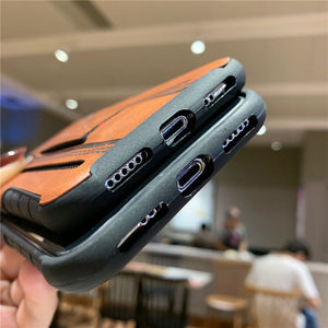 Cases For iPhone 11 Pro Max XR XS Max X 8 Plus Card wallet Soft TPU Cover - Actual Phone Case