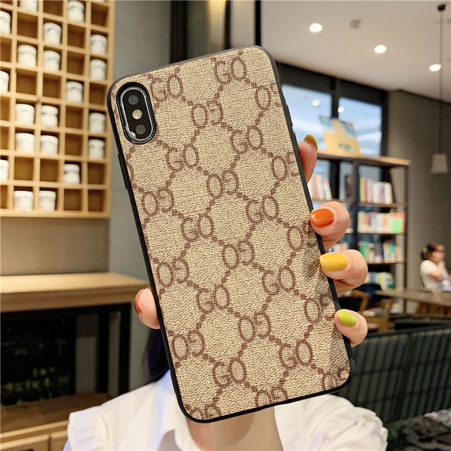 Luxury Checkerboard Phone Case For iPhone 11 Pro Max XR X XS 7 8 Plus - Cheap Phone Case