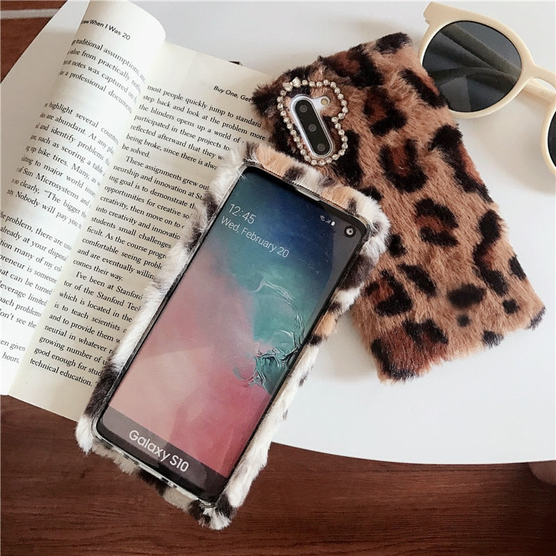 Cases For Samsung Note 10 9 S10 S9 Plus Fashion Leopard - Cheap Phone Case