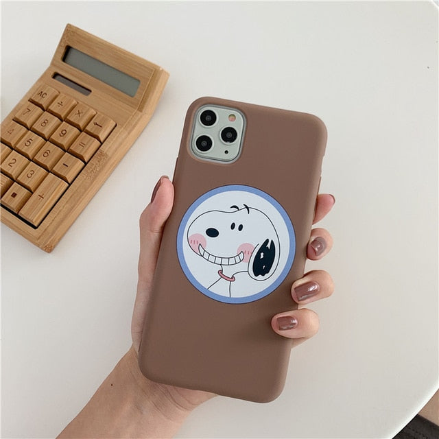 Cute Cartoon Phone Case For iPhone 11 Pro Max X XS Max Xr 7 8 Plus - Actual Phone Case