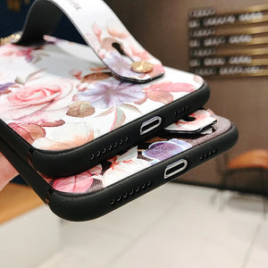 Strap silicone case for samsung galaxy note 10 pro 9 8 S10 S8 S9 plus - Actual Phone Case