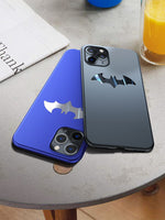 Metal Batman Matte Case For iPhone 11 Pro Max XS max XR XS X 8 7 Plus - Actual Phone Case