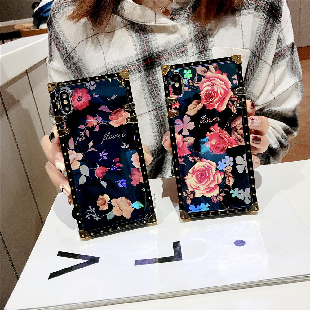 Ray Rose Flower Case For Samsung S8 S9 S10e S20 Plus Note 8 9 10 Pro - Actual Phone Case