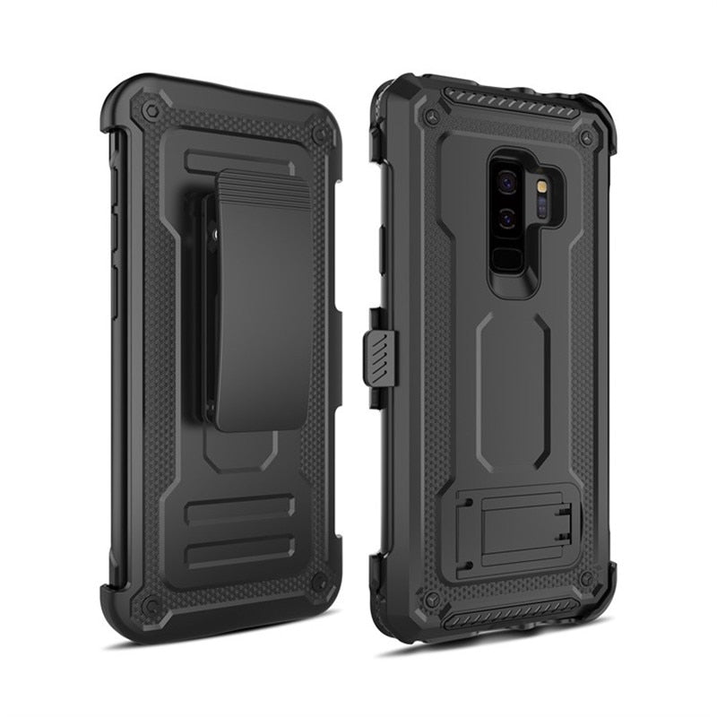 Case with Belt Clip For Samsung Galaxy S8 S9 S10 Plus S10E Note 9 8 - Actual Phone Case
