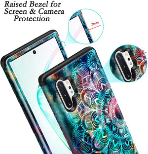 For Samsung Galaxy S9 S10 Plus Note 10 Note 9 TPU 3in1 Shockproof Case - Actual Phone Case
