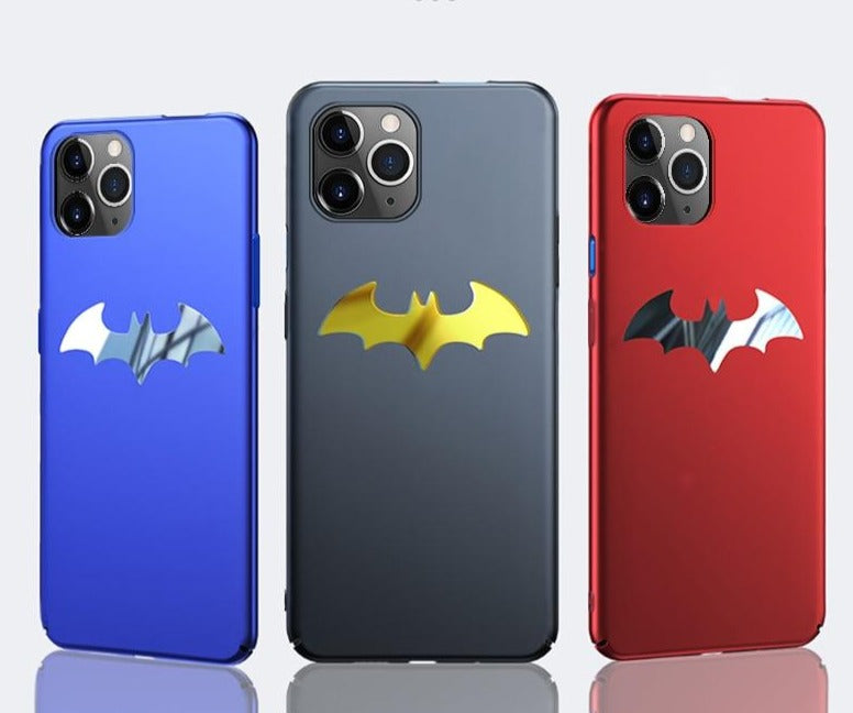 Metal Batman Matte Case For iPhone 11 Pro Max XS max XR XS X 8 7 Plus - Cheap Phone Case