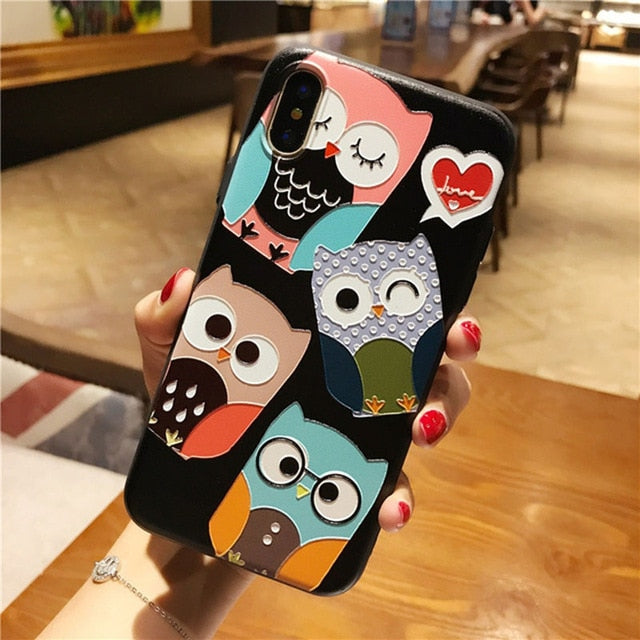 3D Embossed TPU Cases For Samsung Galaxy S8 S9 S10 Note 8 9 Case - Actual Phone Case