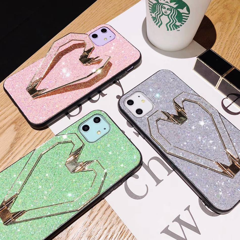 Luxury Fashion Case For iPhone 11 Pro X XS MAX 7 8 Plus Glitter Case - Actual Phone Case