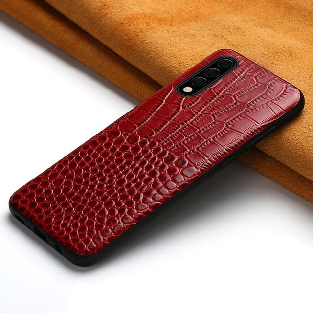 Original Leather Case For Samsung S20 Ultra S20 S8 S9 S10 Plus Note 10 - Actual Phone Case