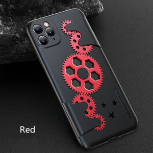 Mechanical Rotating Gear Case For iPhone 11 Pro MAX X XR XS XS MAX - Actual Phone Case