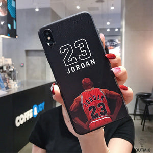 Bulls Chicago Case For iPhone 11 xs max x xr 8 Plus Back Cover - Actual Phone Case