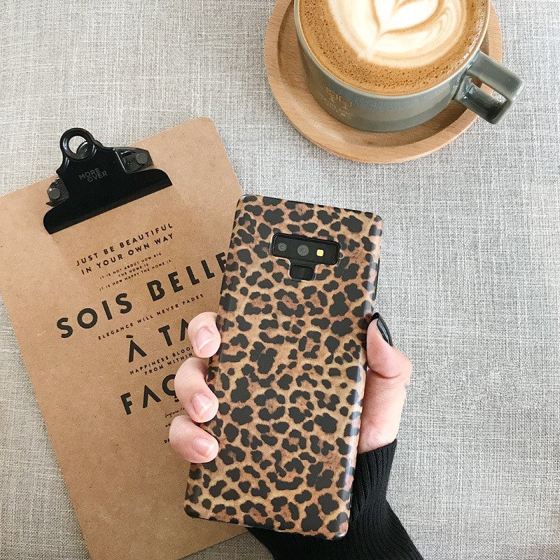 For Samsung Galaxy S10 S10 Plus Case Luxury Leopard S8 S9 Plus Note 9 8 - Actual Phone Case