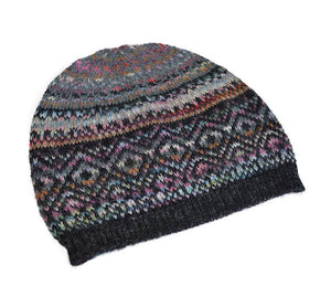 Invisible World 100% Alpaca Wool Hat or Beanie Abancay Space Dyed 100% Alpaca Wool Hat
