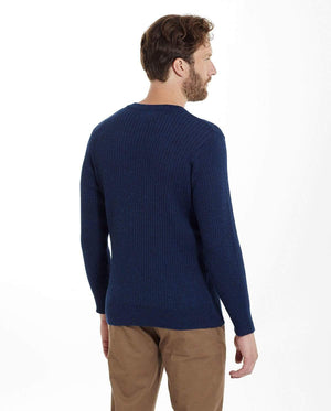 Invisible World Men's Pullover Apollo Ribbed Men's Alpaca Jumper
