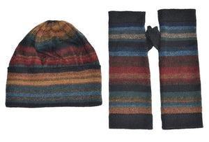 Chiminea Alpaca Hat, Glove, and Scarf Set