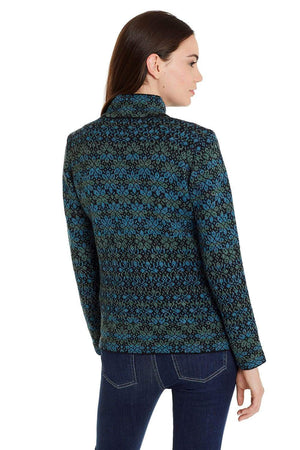 Daphne Zip Alpaca Sweater Cardigan for Women