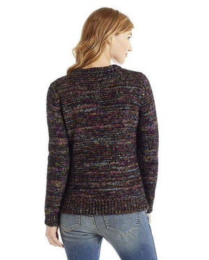 Invisible World Women's Pullover Hand-Dyed Suri Alpaca Jumper for Women