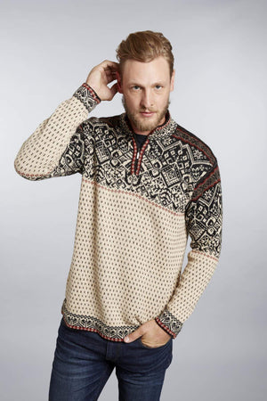 Invisible World Men's Pullover Small Max Men's Nordic Alpaca Jumper
