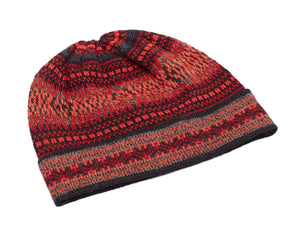 Invisible World Alpaca Hat or Beanie Montreal Red Alpaca Hat