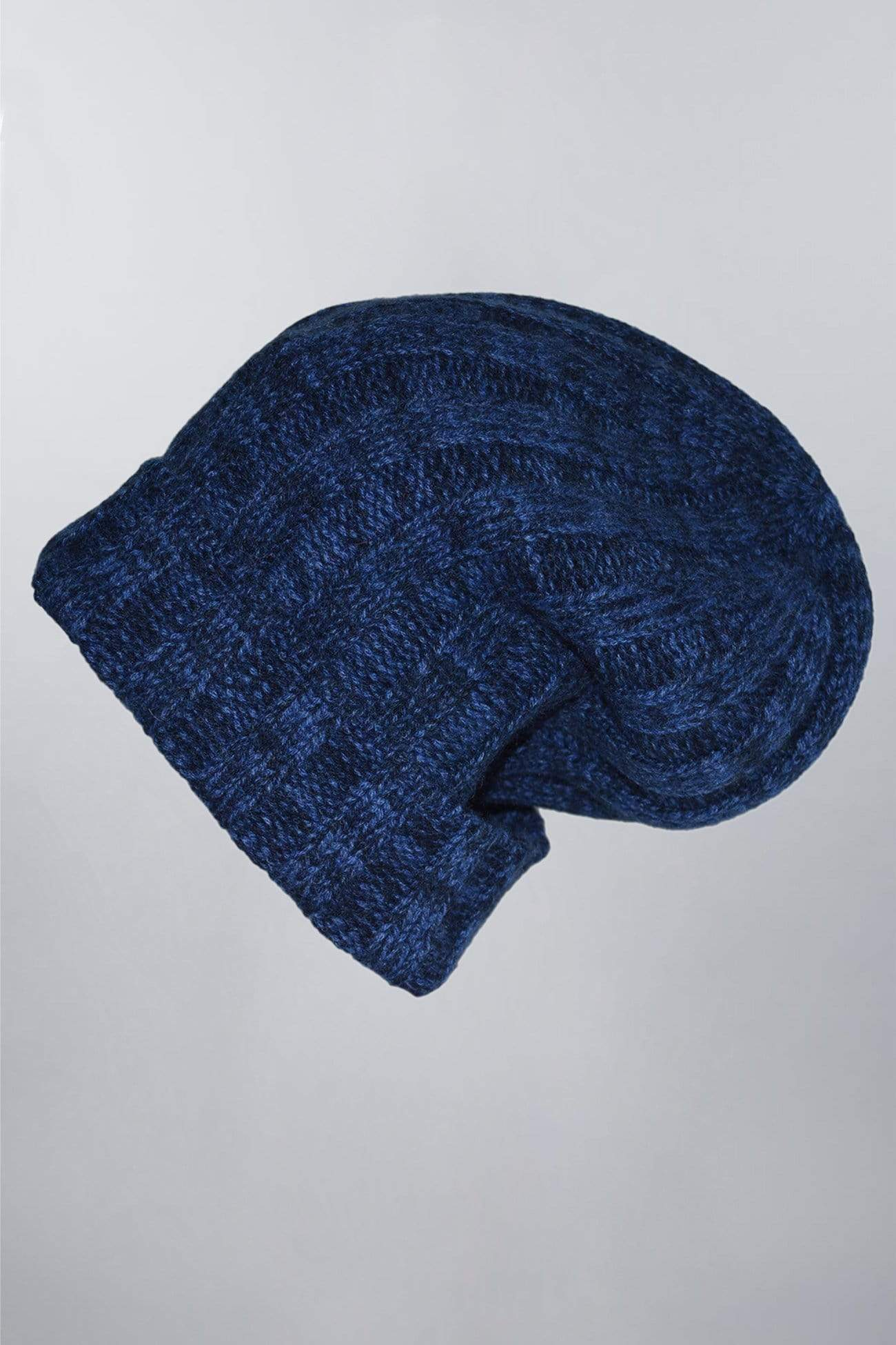 Ribbed Pure Cashmere Hat